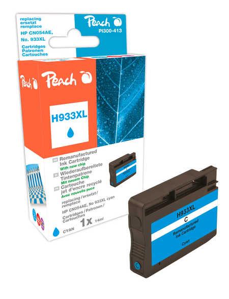 Peach  Tintenpatrone cyan HC kompatibel zu HP OfficeJet 6700 Premium