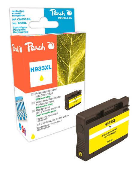 Peach  Tintenpatrone gelb HC kompatibel zu HP OfficeJet 6700 Premium