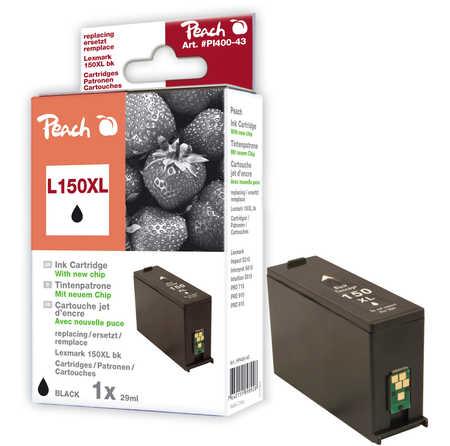 Peach  Tintenpatrone schwarz XL kompatibel zu Lexmark Intuition S 515