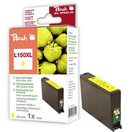 Peach  Tintenpatrone gelb XL kompatibel zu Lexmark Intuition S 515
