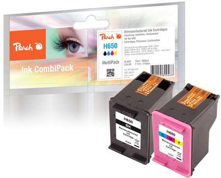 peach spar pack druckk pfe kompatibel zu hp deskjet ink advantage 2546. Black Bedroom Furniture Sets. Home Design Ideas