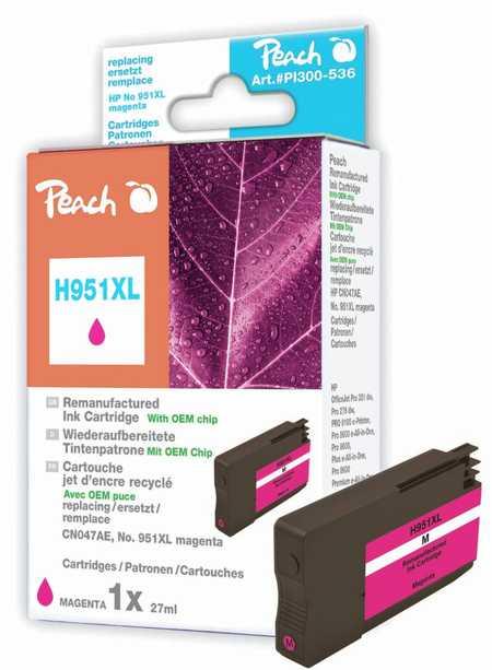 Peach  Tintenpatrone magenta HC kompatibel zu HP OfficeJet Pro 251 dw
