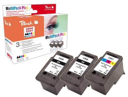 Peach  Spar Pack Plus Druckköpfe kompatibel zu Canon Pixma MG 2250