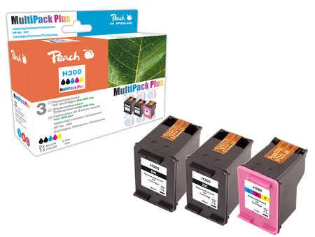 Peach  Spar Pack Plus Druckköpfe kompatibel zu HP DeskJet F 4213
