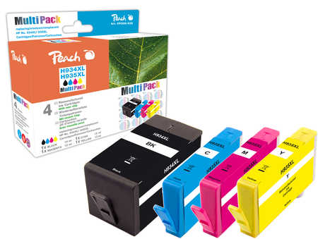 Peach  Spar Pack Tintenpatronen kompatibel zu HP OfficeJet Pro 6230