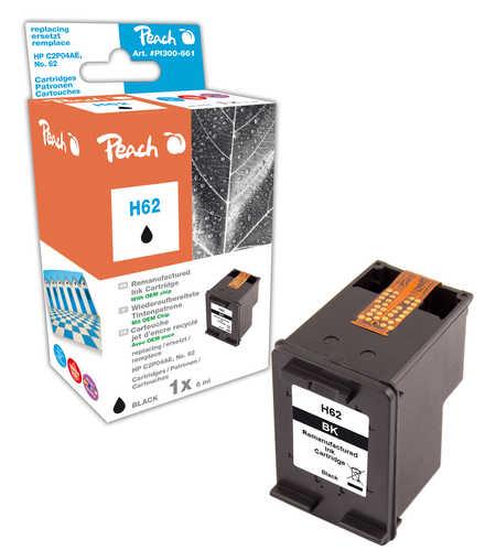 Peach  Druckkopf schwarz kompatibel zu HP Envy 5661 e-All-in-One