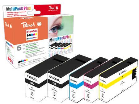 Peach  Spar Pack Plus Tintenpatronen kompatibel zu Canon Maxify MB 2350