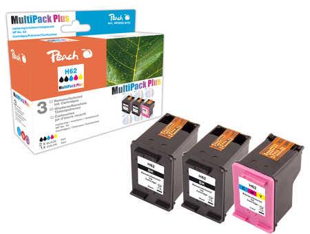 Peach  Spar Pack Plus Druckköpfe kompatibel zu HP Envy 5661 e-All-in-One