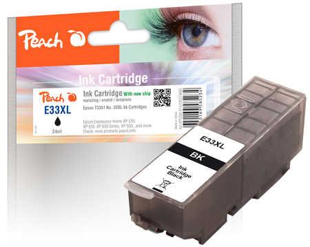 Peach  Tintenpatrone XL schwarz kompatibel zu Epson Expression Premium XP-830