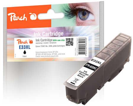 Peach  Tintenpatrone XL foto schwarz kompatibel zu Epson Expression Premium XP-830