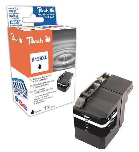 Peach  Tintenpatrone schwarz XXL, kompatibel zu Brother MFCJ 6520 DW