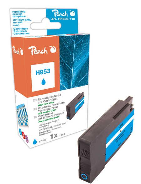 Peach  Tintenpatrone cyan kompatibel zu HP OfficeJet Pro 7720
