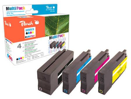 Peach  Spar Pack Tintenpatronen kompatibel zu HP OfficeJet Pro 7720