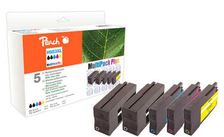 Peach  Spar Pack Plus Tintenpatronen kompatibel zu HP OfficeJet Pro 7720