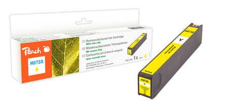 Peach  Tintenpatrone gelb HC kompatibel zu HP PageWide Pro 477 dn