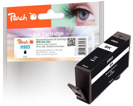 Peach  Tintenpatrone schwarz kompatibel zu HP OfficeJet 6950