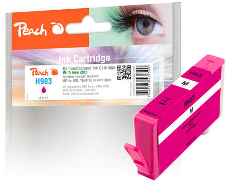 Original Peach Tintenpatrone magenta kompatibel zu HP OfficeJet 6950